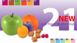 Unfold A World Of Possibilities With New GJS Flex Textile Vinyls