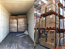 Huge shipment of dye sublimation blanks on shelves - order now for Xmas!