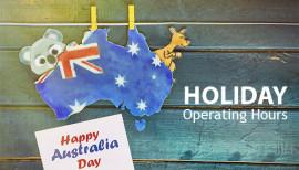 Australia Day Closure 2017