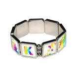 Bracelet - 9pcs w/ Sublimation Metal