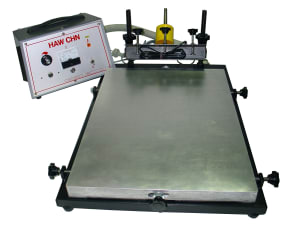 Bench Top Printing Table Inc. Vacuum