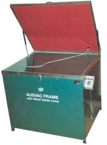 Aus-Vac Frame with Metal Halide Lamp