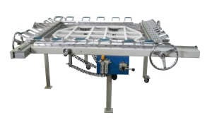 Pneumatic & Mechanical Screen Stretcher