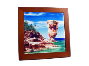 Solid Wood Frame for Tiles