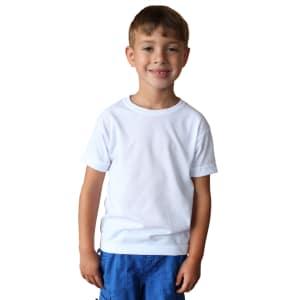 Toddler Basic T - Short Sleeve - Brighter White
