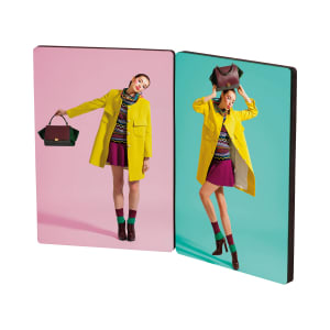 ChromaLuxe Photo Panels - Hinged Flat Tops