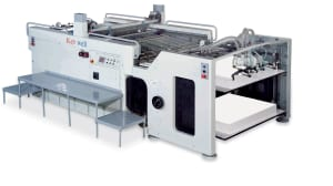 Keywell Automatic Full or Half-Turn Cylinder Printing Machine