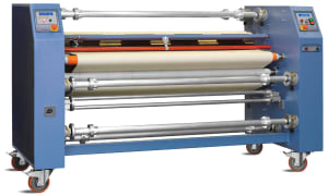 AIT 7300IJO Oil Heated Rotary Heat Transfer Press