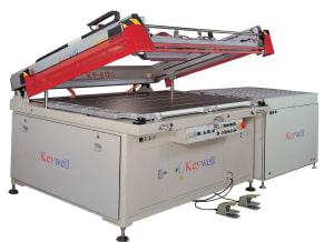 Keywell Clam Shell 3/4 Automatic Glass Printer