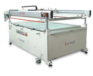 Keywell Four Post Semi Automatic Glass Printer