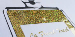 GJS ConfettiFlex - Thermal Textile Vinyl with Metallic Confetti Effect
