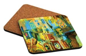 Unisub Bar Coasters - Hardboard