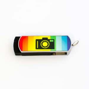 USB Printable Memory Stick incl Metal - 8GB