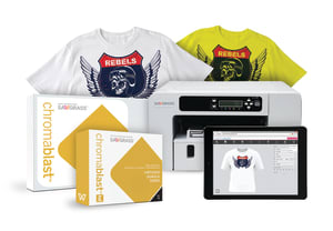ChromaBlast-HD Virtuoso SG400 Cotton Garment Decoration System