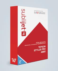 SubliJet-IQ Dye Sublimation Ink Cartridges for Epson 4450/4880