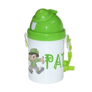 Poly Mug Kids Plastic Sippy Cup Drink Bottle