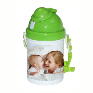 Poly Mug Kids Plastic Sippy Cup Drink Bottle