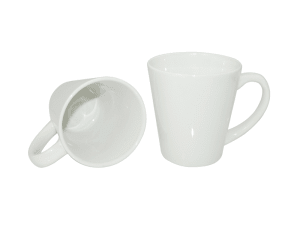 Ceramic Latte Mug - White