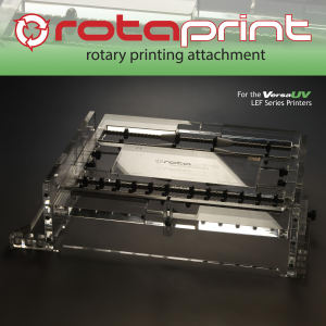 RotaPrint Attachment for the VersaUV LEF Series