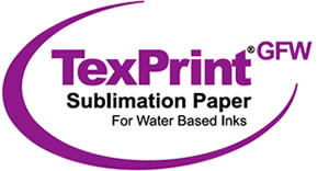 TexPrintGFW 150gsm High Release Dye Sublimation Transfer Paper - Grand Format