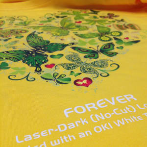 FOREVER Laser-Dark (No-Cut) Laser Heat Transfer Paper - Clear A-Film
