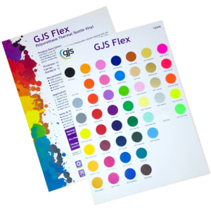 GJS Flex Range Colour Sample Swatches