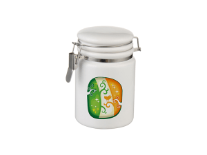 Ceramic Storage Jar with Bale Closure - 14oz