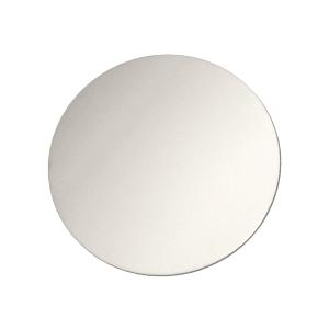 ChromaLuxe Metal Circular Panels - Gloss White