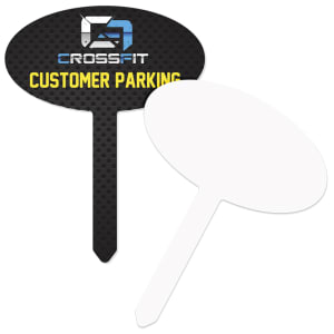 Unisub Metal Outdoor Stakes - Gloss White