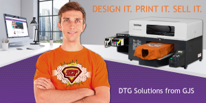 Customise t-shirts using dye sublimation technology