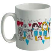 Ceramic Mugs - White