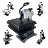 Geo Knight DC16 Digital Combo Heat Transfer Press