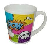 Ceramic Latte Mug - White