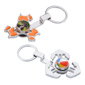 Fidget Spinner Key Rings
