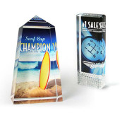 Print customised artwork direct to awards and trophies