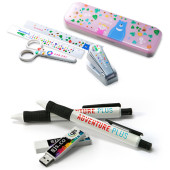Personalize a variety of stationery items