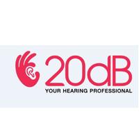 20dB Hearing logo