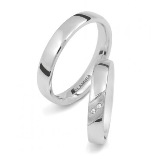 Estremamente Acquista anelli di promessa coordinati | GLAMIRA.it CW34