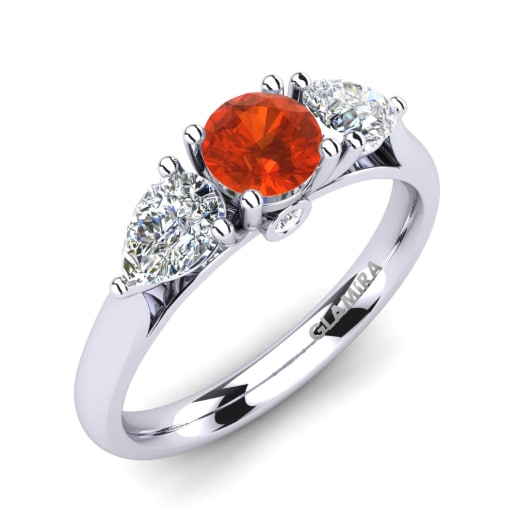 Order FireOpal Engagement Rings GLAMIRAcom