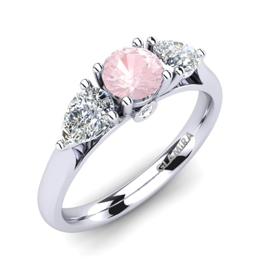 Order Rose Quartz Engagement Rings GLAMIRAcom