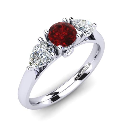 Order Ruby Engagement Rings GLAMIRAcom