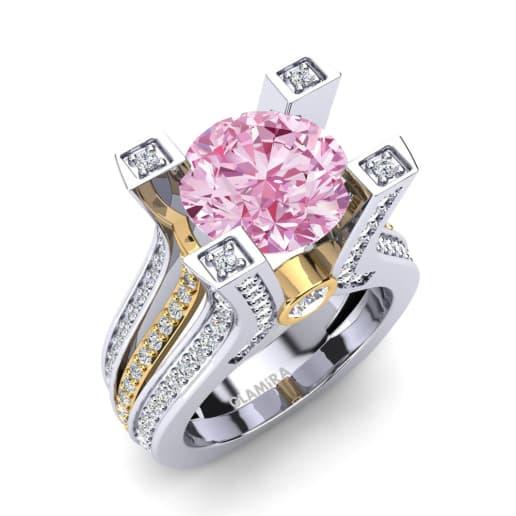 Super Achetez Diamant Rose - Bagues Diamant Coloré | GLAMIRA.fr ML23