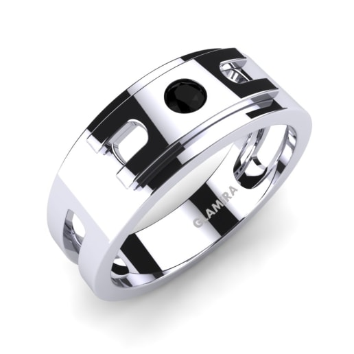 Buy Black Diamond Rings Men GLAMIRAcouk