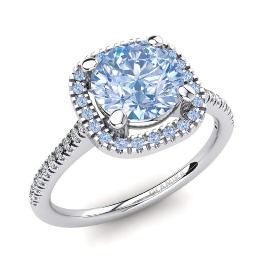 Populaire Achetez Diamant Bleu - Bagues Diamant Coloré | GLAMIRA.fr HF77