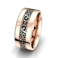 Herrenring Golden Desire 10 mm