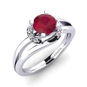 GLAMIRA Ring Kylie 0.8 crt