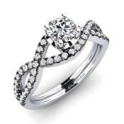 GLAMIRA Ring Mariel 0.5 crt