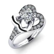 GLAMIRA Ring Olevia 0.5 crt