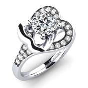 GLAMIRA Ring Olevia 0.8 crt