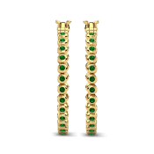 GLAMIRA Earring Alvernia 25 mm